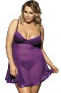 Babydoll Susana violeta