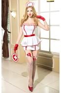 Disfraz Enfermera 7 piezas