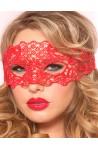 Antifaz Máscara Color rojo