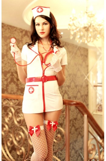 Disfraz de Enfermera 8 piezas