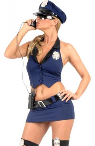 Fantasía de Policía con Minifalda