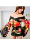 Kimono Corto Con Moño